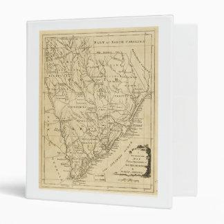 """Mapa de la provincia de Carolina del Sur (1779) Carpeta 1"""""""