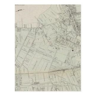 Mapa de la rama larga, NJ Tarjeta Postal