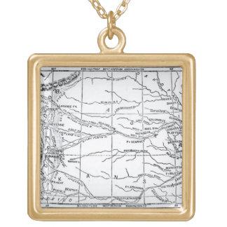 Mapa de la región del oro, publicado en 'el Weekly Pendientes Personalizados