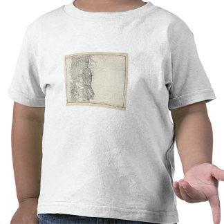 Mapa de la República de Chile 8 Camisetas