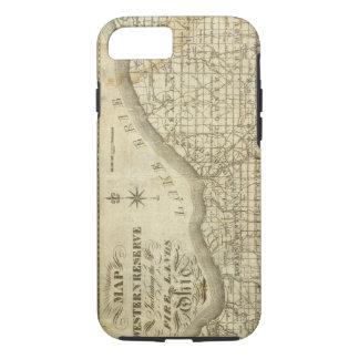 Mapa de la reserva occidental funda iPhone 7