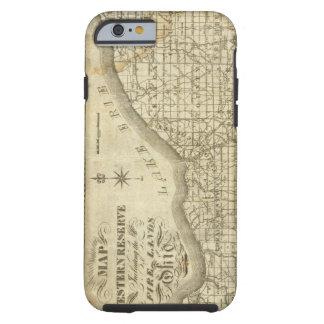 Mapa de la reserva occidental funda resistente iPhone 6