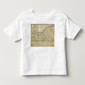 Mapa de la reserva occidental t shirts