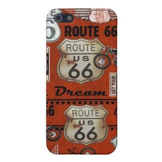Mapa de la ruta 66 - SRF iPhone 5 Funda