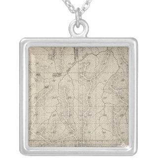 Mapa de la sección de T1415S R3031E el condado de  Collar Plateado