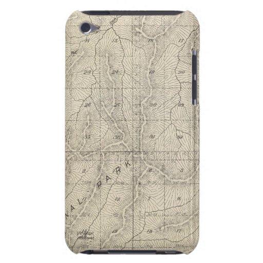 Mapa de la sección de T1415S R3031E el condado de Funda Para iPod De Case-Mate