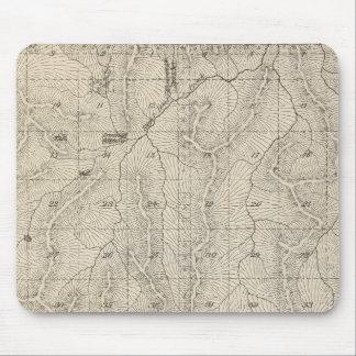 Mapa de la sección de T1415S R3031E el condado de  Mousepad
