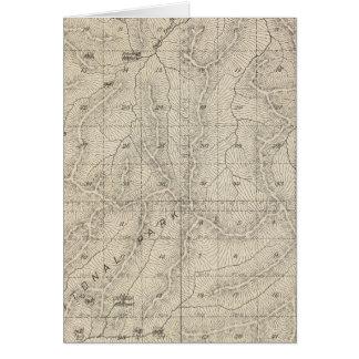 Mapa de la sección de T1415S R3031E el condado de  Tarjeta De Felicitación