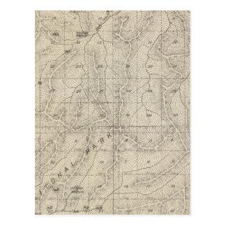 Mapa de la sección de T1415S R3031E el condado de Tarjetas Postales