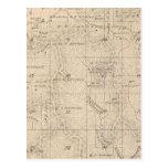 Mapa de la sección de T15S R26E el condado de Postales