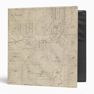 """Mapa de la sección de T15S R27E el condado de Tula Carpeta 1 1/2"""""""