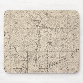 Mapa de la sección de T1617S R2829E el condado de  Alfombrilla De Raton