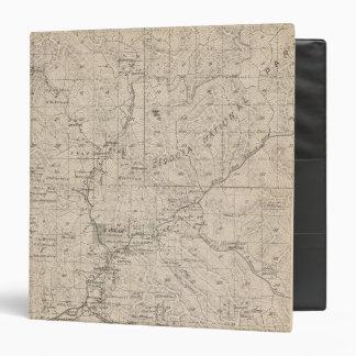 """Mapa de la sección de T1617S R2829E el condado de  Carpeta 1 1/2"""""""
