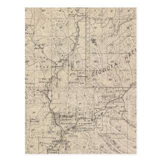 Mapa de la sección de T1617S R2829E el condado de Postal