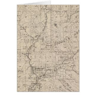 Mapa de la sección de T1617S R2829E el condado de  Tarjeta De Felicitación