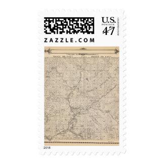 Mapa de la sección de T1617S R2829E el condado de Timbre Postal