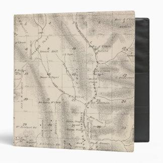 Mapa de la sección de T16S R27E el condado de Tula