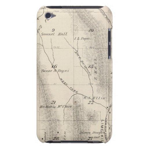 Mapa de la sección de T16S R27E el condado de Tula Case-Mate iPod Touch Cobertura