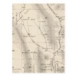 Mapa de la sección de T16S R27E el condado de Tula Tarjeta Postal