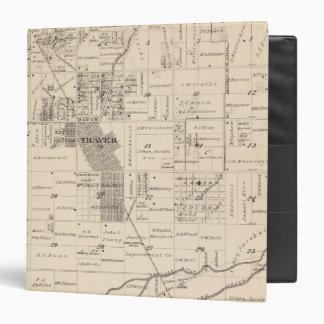 """Mapa de la sección de T17S R23E el condado de Tula Carpeta 1 1/2"""""""