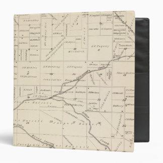 """Mapa de la sección de T17S R24E el condado de Carpeta 1 1/2"""""""