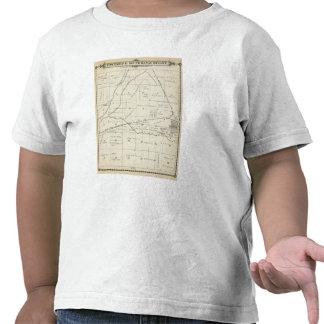 Mapa de la sección de T18S R23E el condado de Camiseta