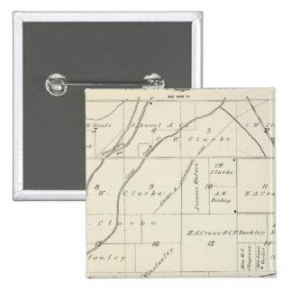 Mapa de la sección de T18S R23E el condado de Tula Pin