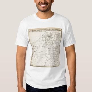 Mapa de la sección de T19S R20E el condado de Camisas