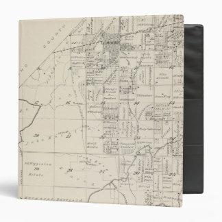"""Mapa de la sección de T19S R20E el condado de Carpeta 1 1/2"""""""
