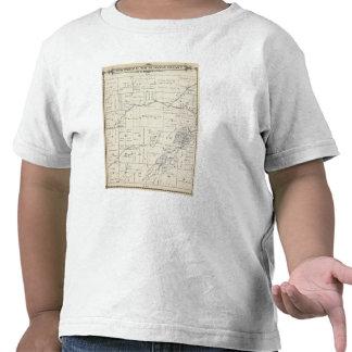 Mapa de la sección de T19S R23E el condado de Tula Camiseta