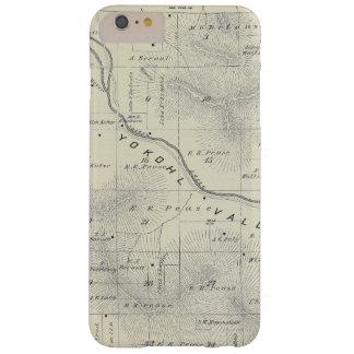 Mapa de la sección de T19S R27E el condado de Funda Barely There iPhone 6 Plus