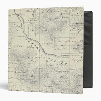 Mapa de la sección de T19S R27E el condado de Tula