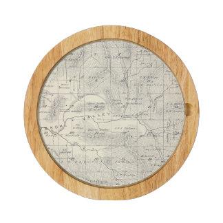 Mapa de la sección de T19S R28E el condado de