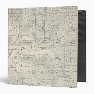 """Mapa de la sección de T19S R28E el condado de Tula Carpeta 1 1/2"""""""
