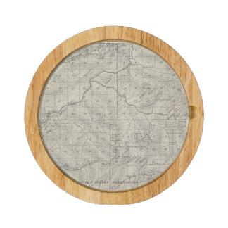 Mapa de la sección de T2021S R3031E el condado de