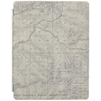 Mapa de la sección de T2021S R3031E el condado de Cover De iPad