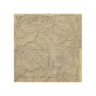 Mapa de la sección de T2021S R3031E el condado de  Cuadros De Madera