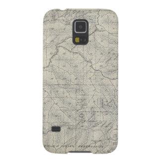 Mapa de la sección de T2021S R3031E el condado de Funda De Galaxy S5