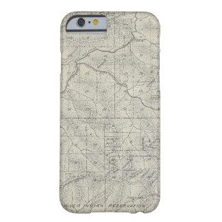 Mapa de la sección de T2021S R3031E el condado de Funda De iPhone 6 Barely There