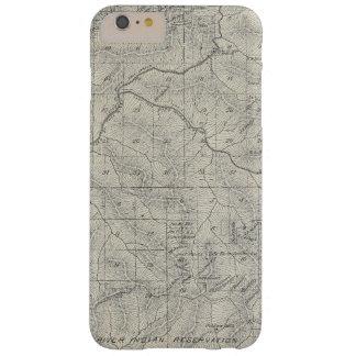 Mapa de la sección de T2021S R3031E el condado de Funda Para iPhone 6 Plus Barely There