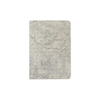 Mapa de la sección de T2021S R3031E el condado de Porta Pasaporte