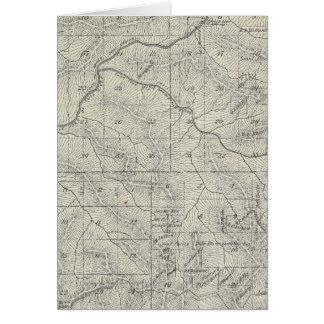 Mapa de la sección de T2021S R3031E el condado de  Tarjeta De Felicitación