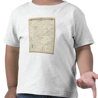 Mapa de la sección de T20S R23E el condado de Tula Camisetas