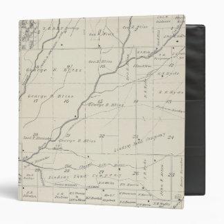 Mapa de la sección de T20S R25E el condado de Tula