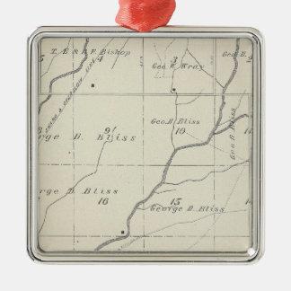 Mapa de la sección de T20S R25E el condado de Tula Adorno De Reyes