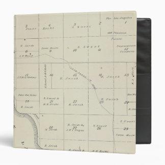 """Mapa de la sección de T21S R22E el condado de Carpeta 1 1/2"""""""