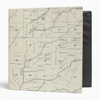 """Mapa de la sección de T21S R23E el condado de Carpeta 1 1/2"""""""