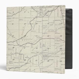 """Mapa de la sección de T21S R24E el condado de Carpeta 1 1/2"""""""