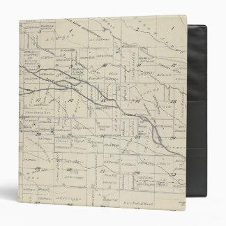 """Mapa de la sección de T21S R26E el condado de Carpeta 1 1/2"""""""