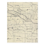 Mapa de la sección de T21S R26E el condado de Tula Postal